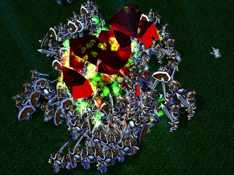 Chaosmaster4's Hero Line War map pack addon - Warcraft III: Frozen on
