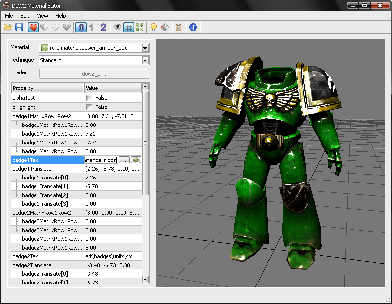 Santos tools 2 v0 5 2 file dawn of war ii mod db 3d model editor