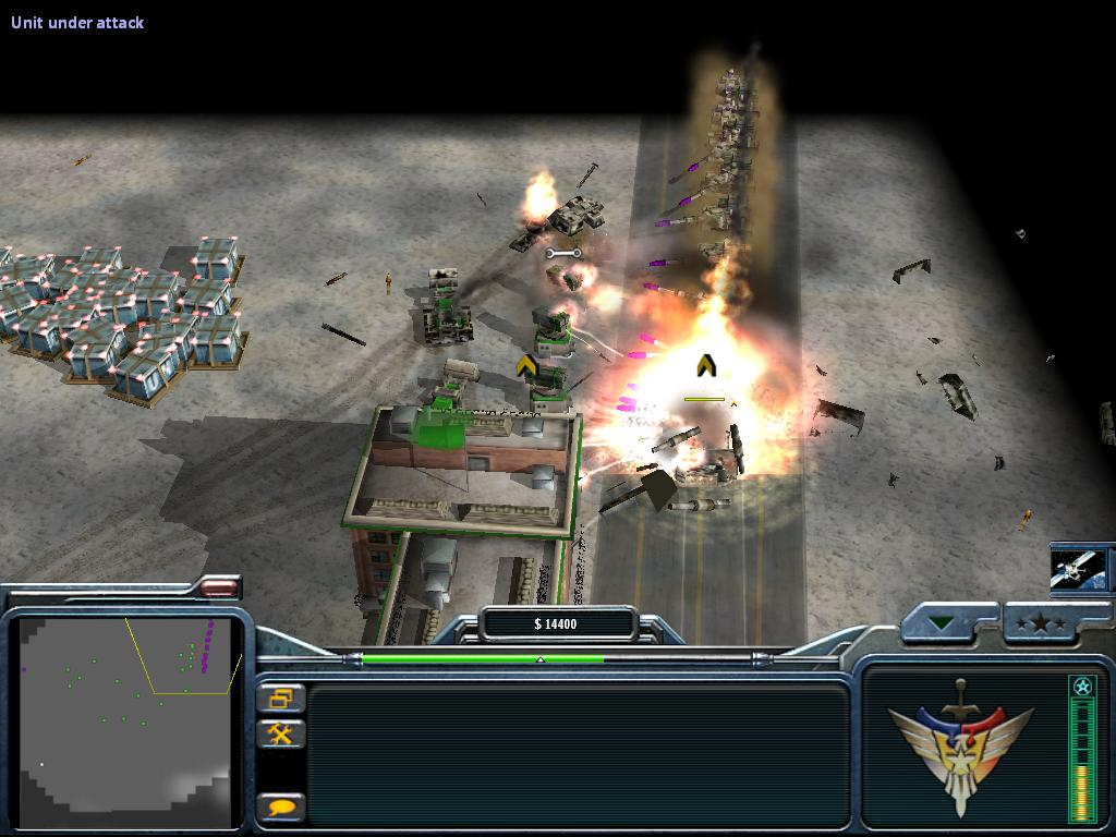 map command and conquer generals heure h