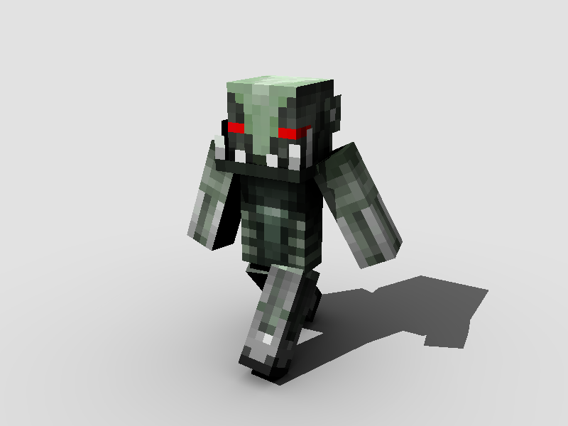 Here s an exle of skins look rendered this one s mine