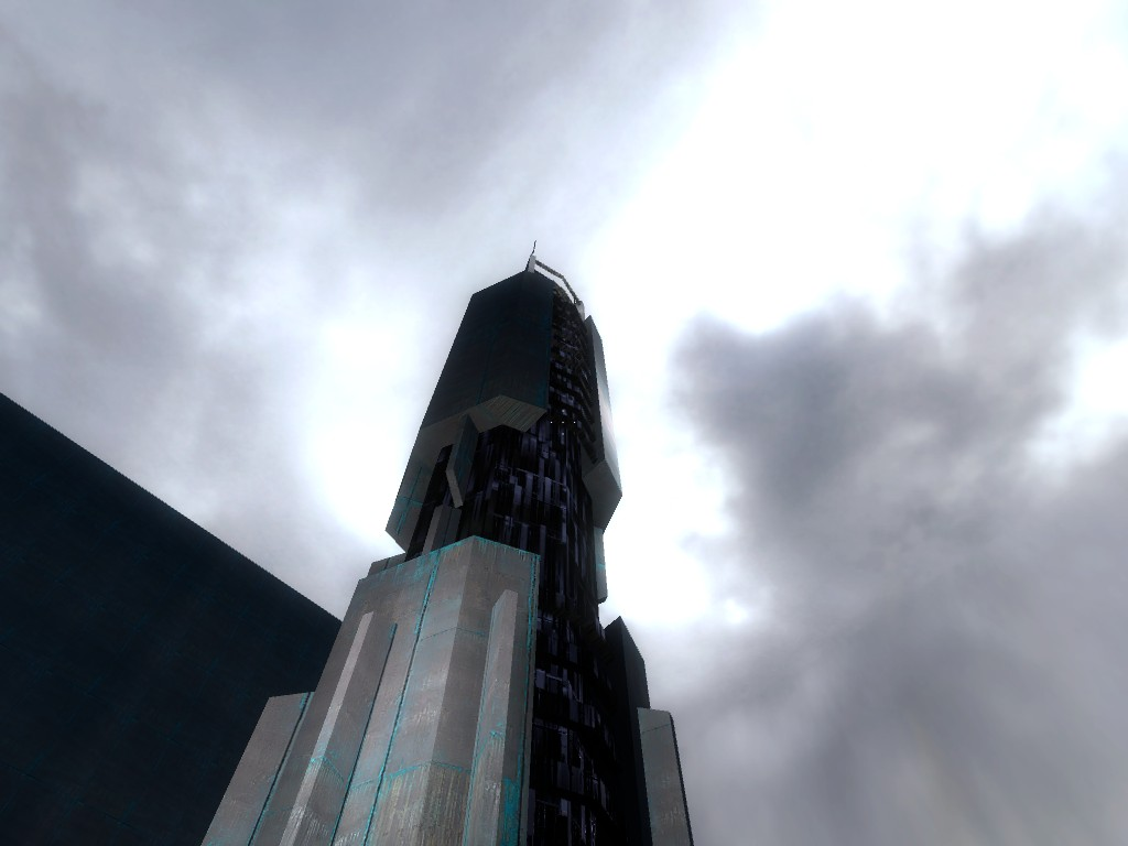 Combine tower raw building addon final decision for Half life 2 architecture