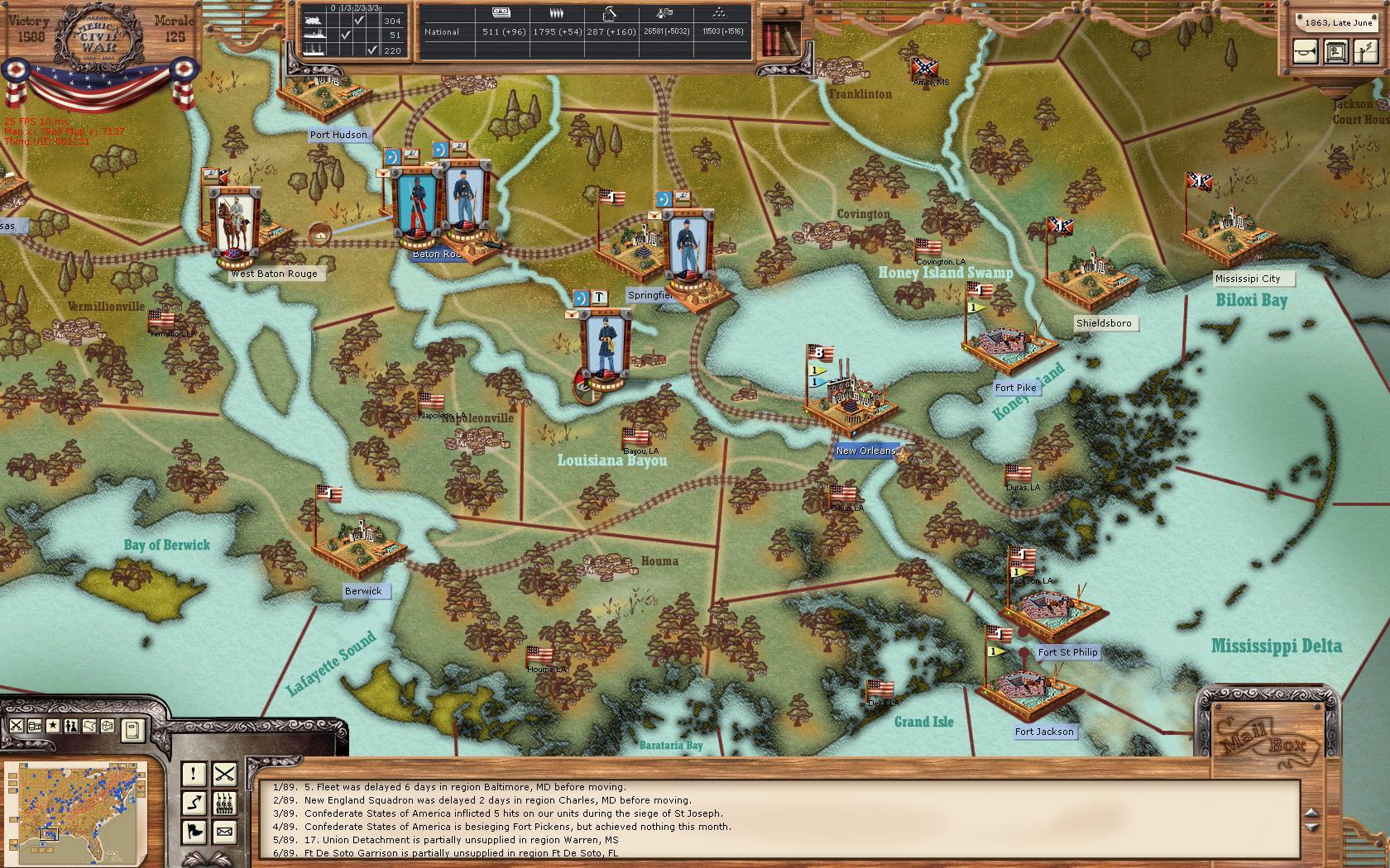 Торент Ageod American Civil War