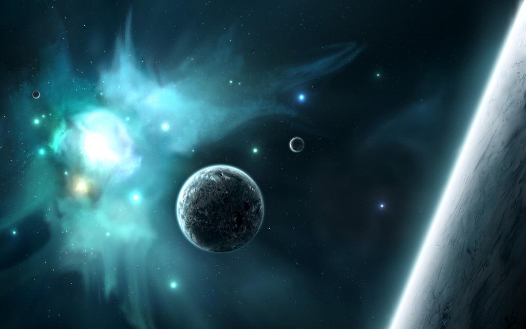 Фото космоса рисунок