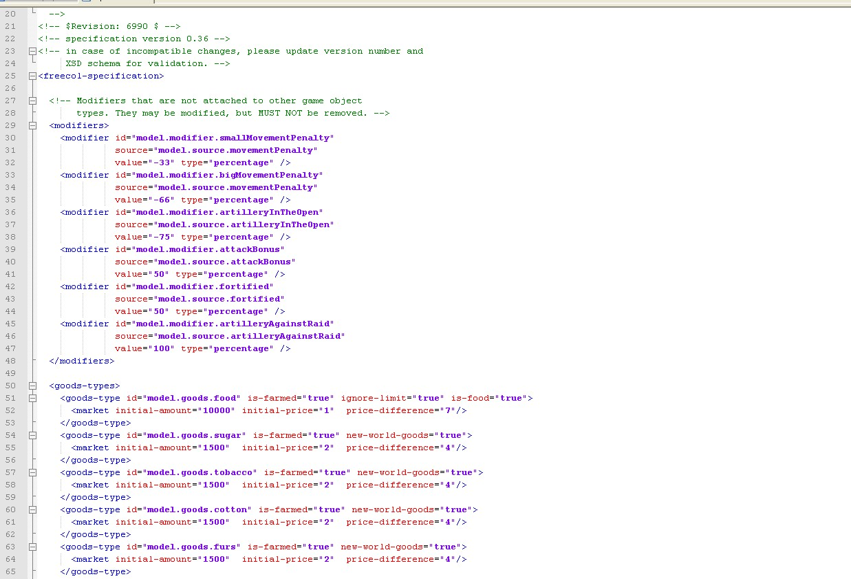 Source code - Java archive ( jar file) - FreeCol - Mod DB