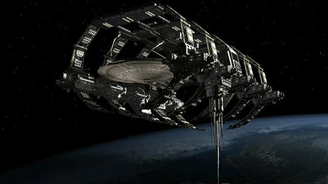 broken space ship - photo #38