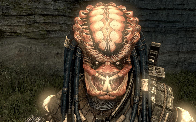 AvPGalaxy City Hunter (Face) Skin addon - Aliens vs