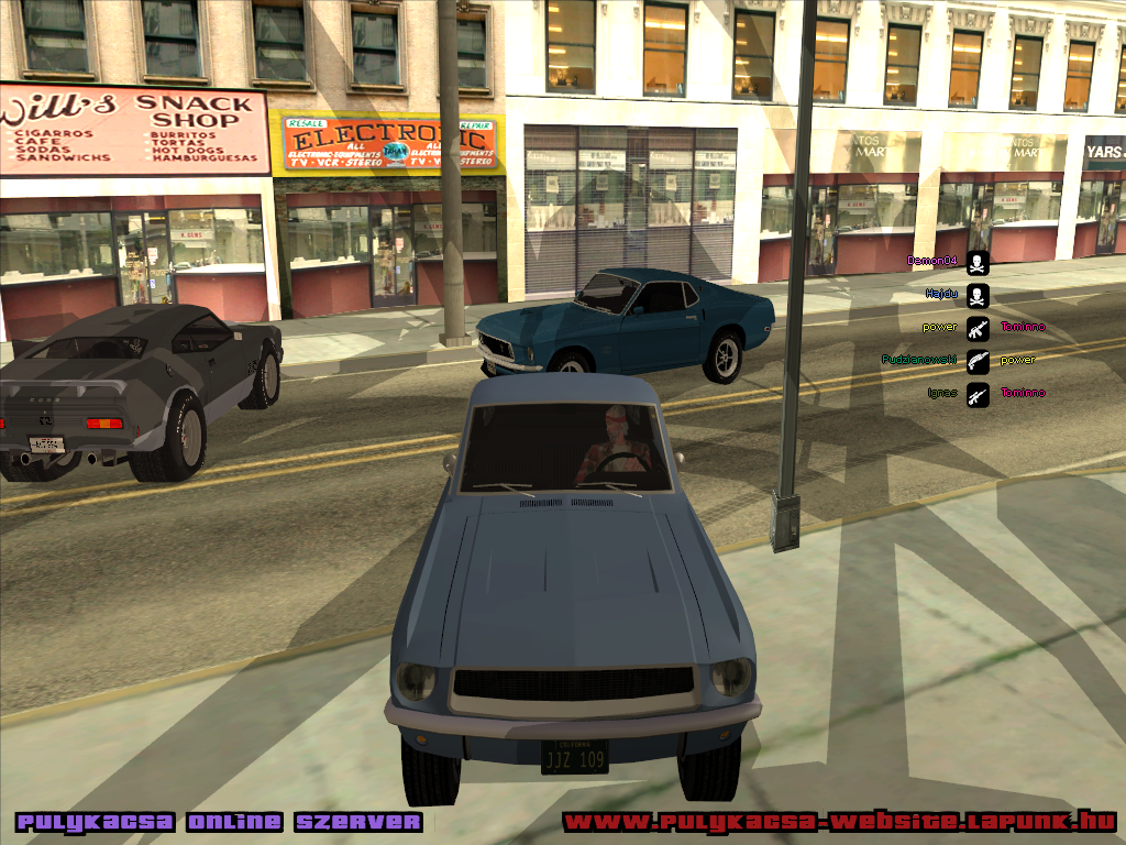 GTA StrongCars addon - San Andreas Copland 2006 Mod for Grand Theft