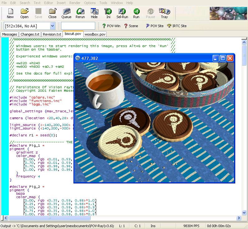 POV-Ray Mac OS X download - Free Software Initiative - Mod DB