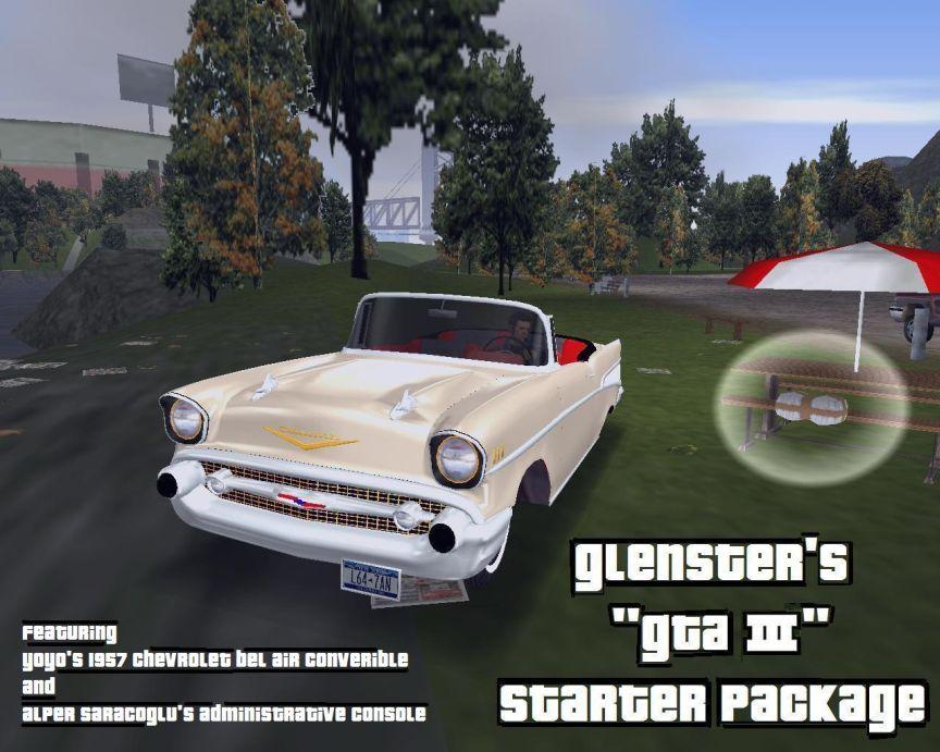 Glensters GTA III Starter Package file  Grand Theft Auto III