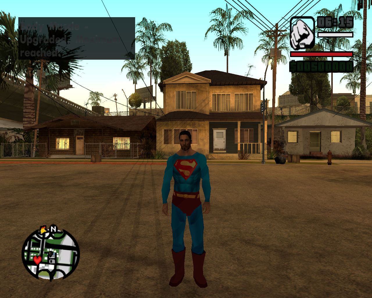 Gta: san andreas superman mod [ps2] youtube.