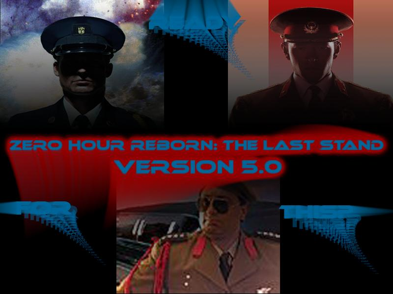 Generals - Zero Hour Reborn - The Last Stand V5.0 (2007/PC/Rus