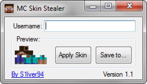 Minecraft Skin StealerDownloader V File Mod DB - Minecraft skin stealer name mc