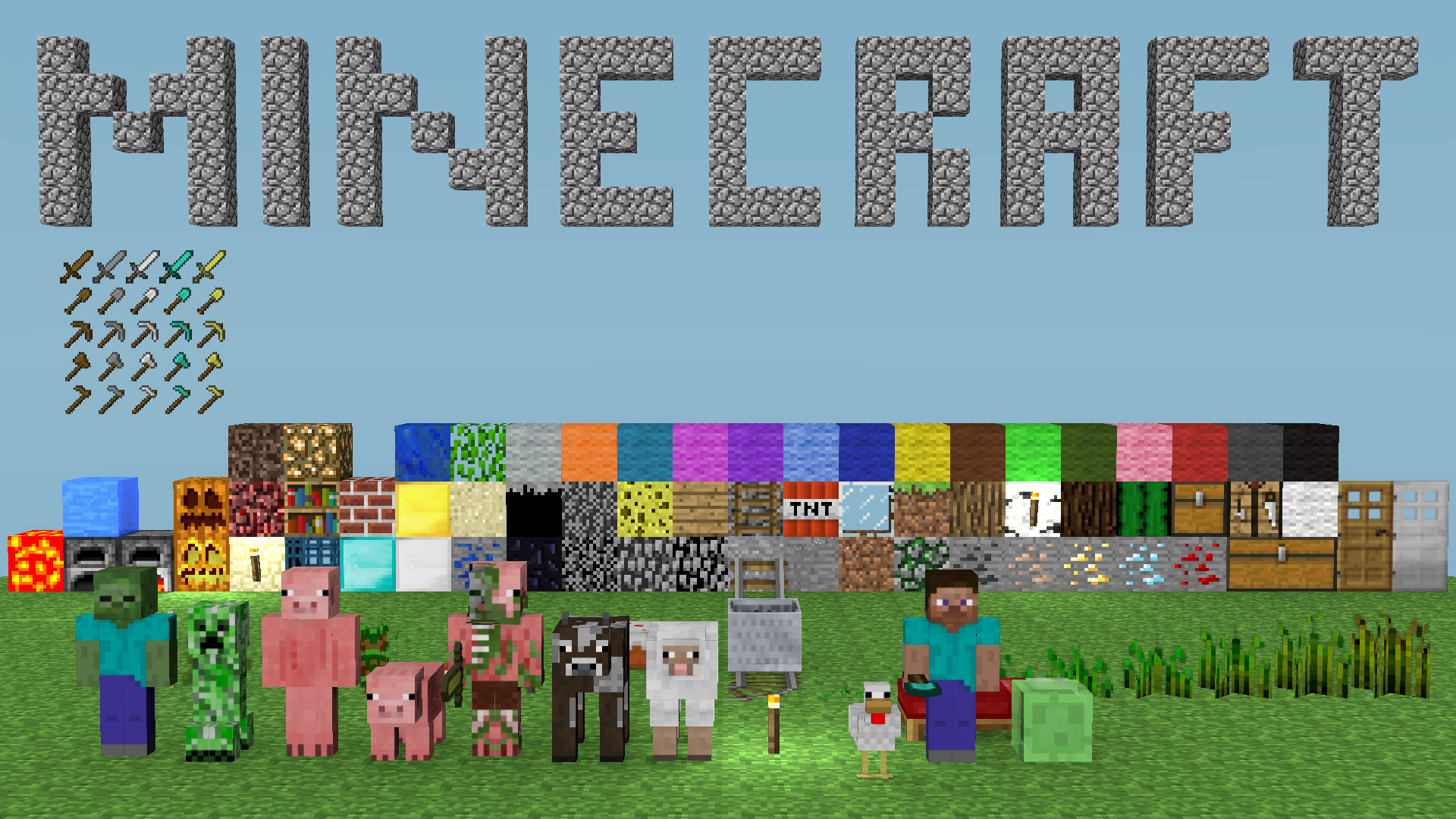 Minecraft Latest version 1.6.2 (PC Games/Eng) Full Free Download