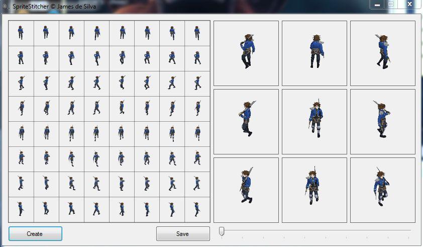 Sprite Sheet Stitcher - Quick Sprite Sheet Maker file