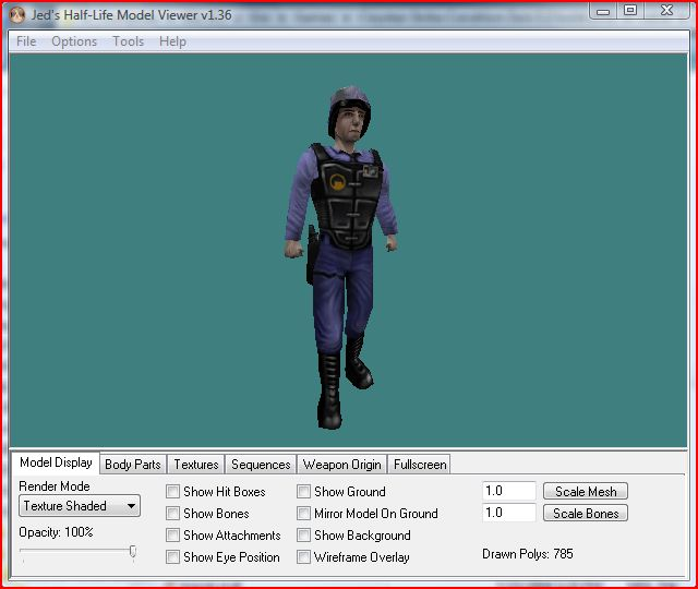 Half life model viewer addon mod db 3d model editor