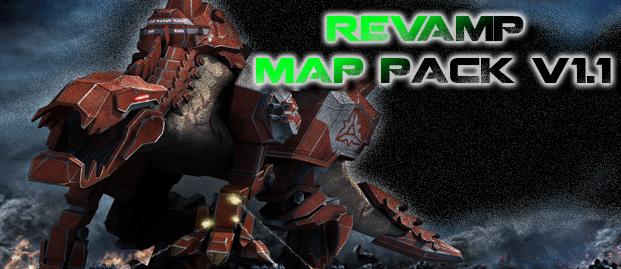 Supreme Commander Map Pack