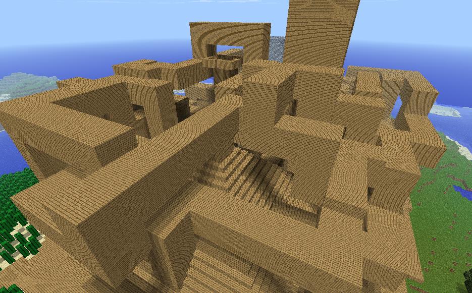 Walkway Maze Beta 4 Addon Minecraft Mod Db