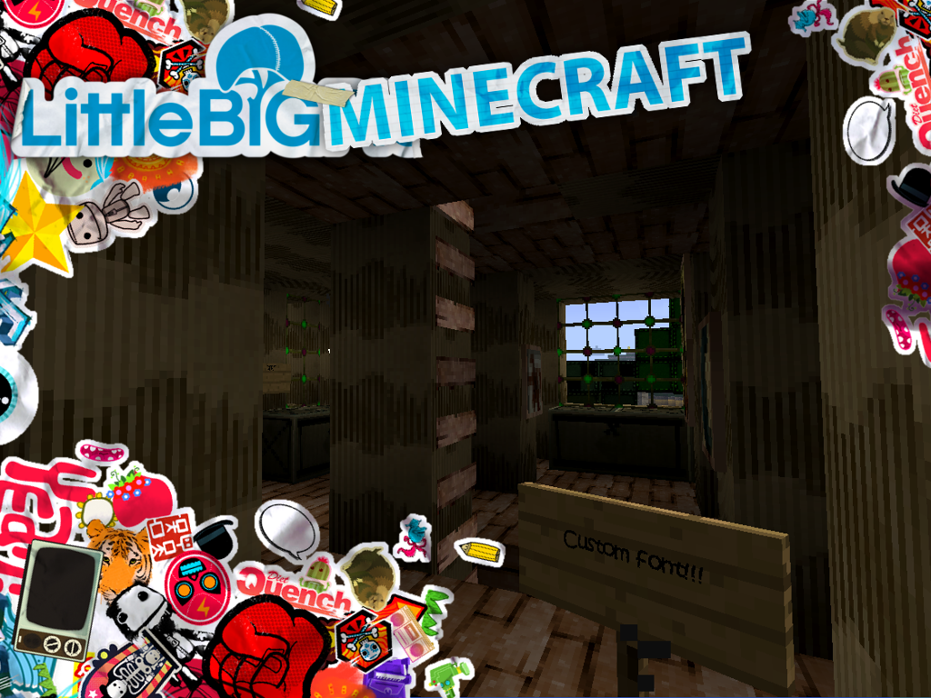 LittleBigPlanet Texture Pack Redux Addon Minecraft Mod DB - Little big world map