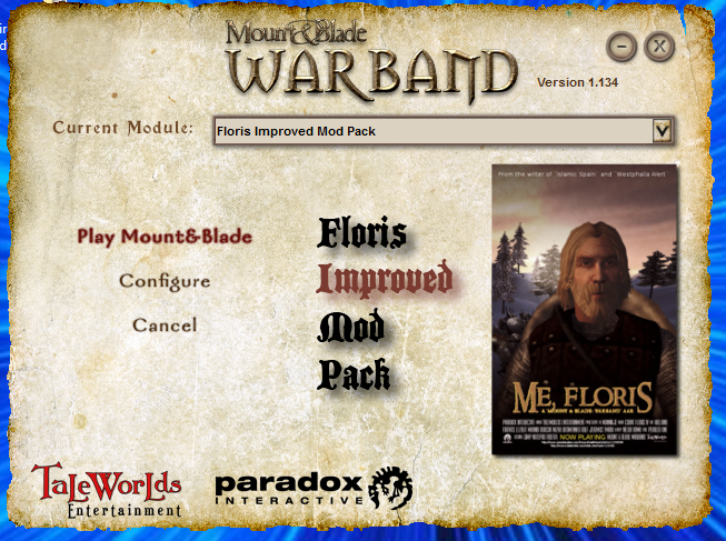 mount and blade warband floris mod pack 2.4