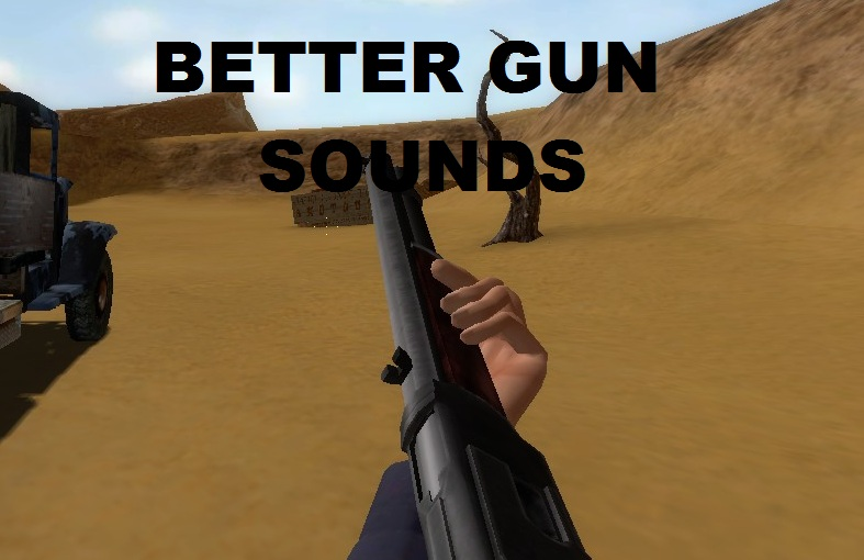 shotgun sunrise gun sound pack addon mod db