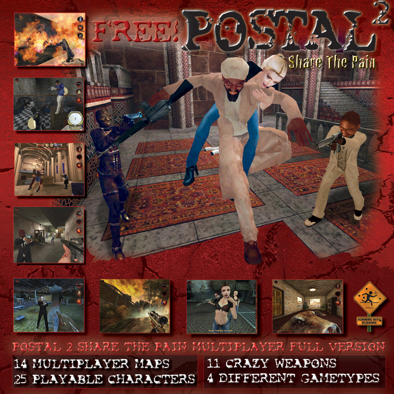 Postal 2 share the pain deviance compressed