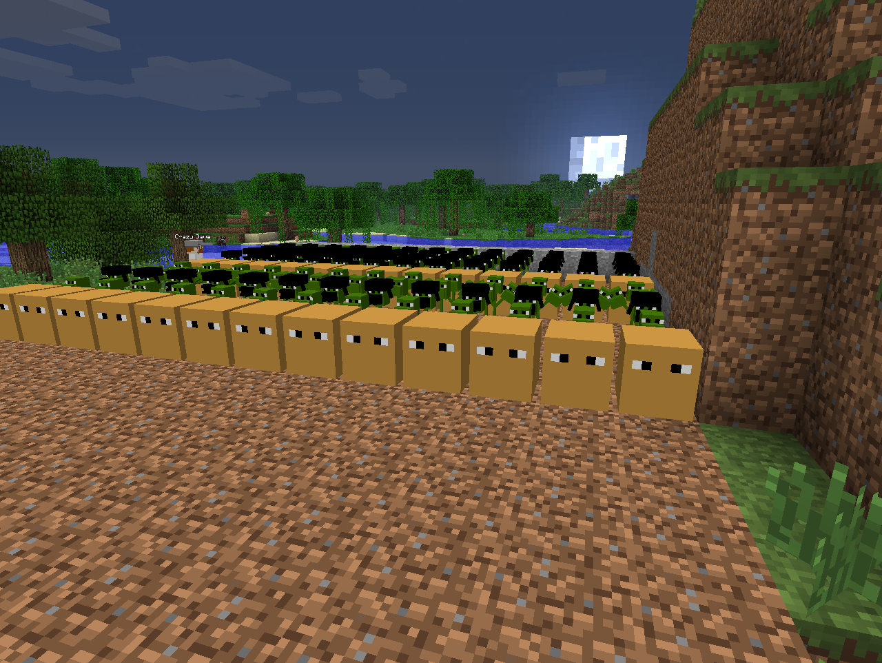 how to make an automatic seed planter in minecraft
