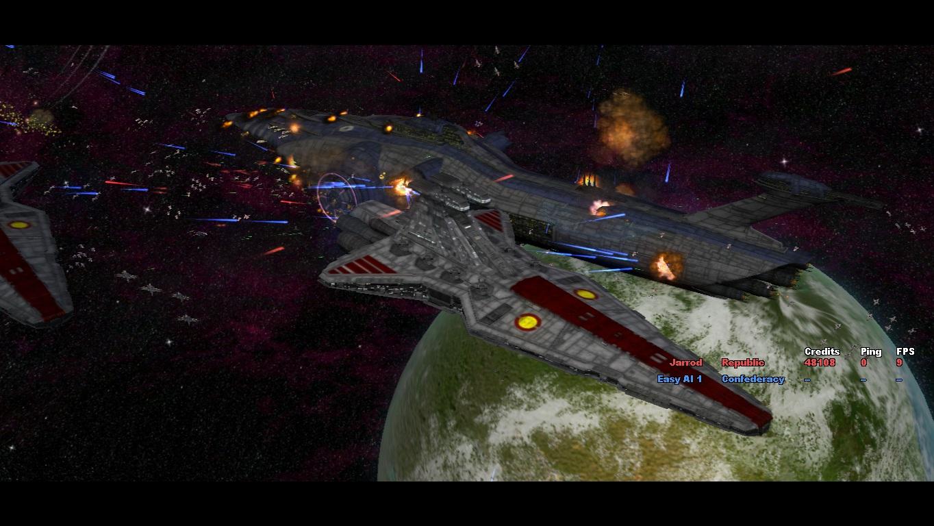 star wars republic at war screenshots file mod db