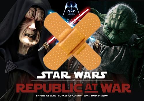 Это как бы тестовый мод того что будет в republic at war Star wars - re