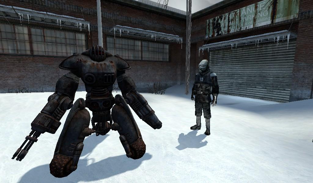 SentryBot (Fallout 3) addon - Garry's Mod - Mod DB