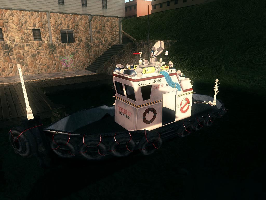 Marine Ecto 8 Addon Trance S Ghostbusters Pack Mod For