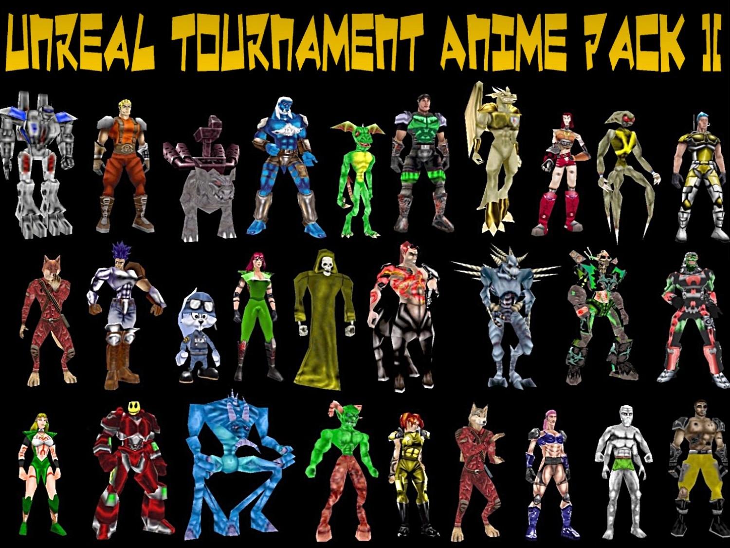 Unreal tournament anime pack