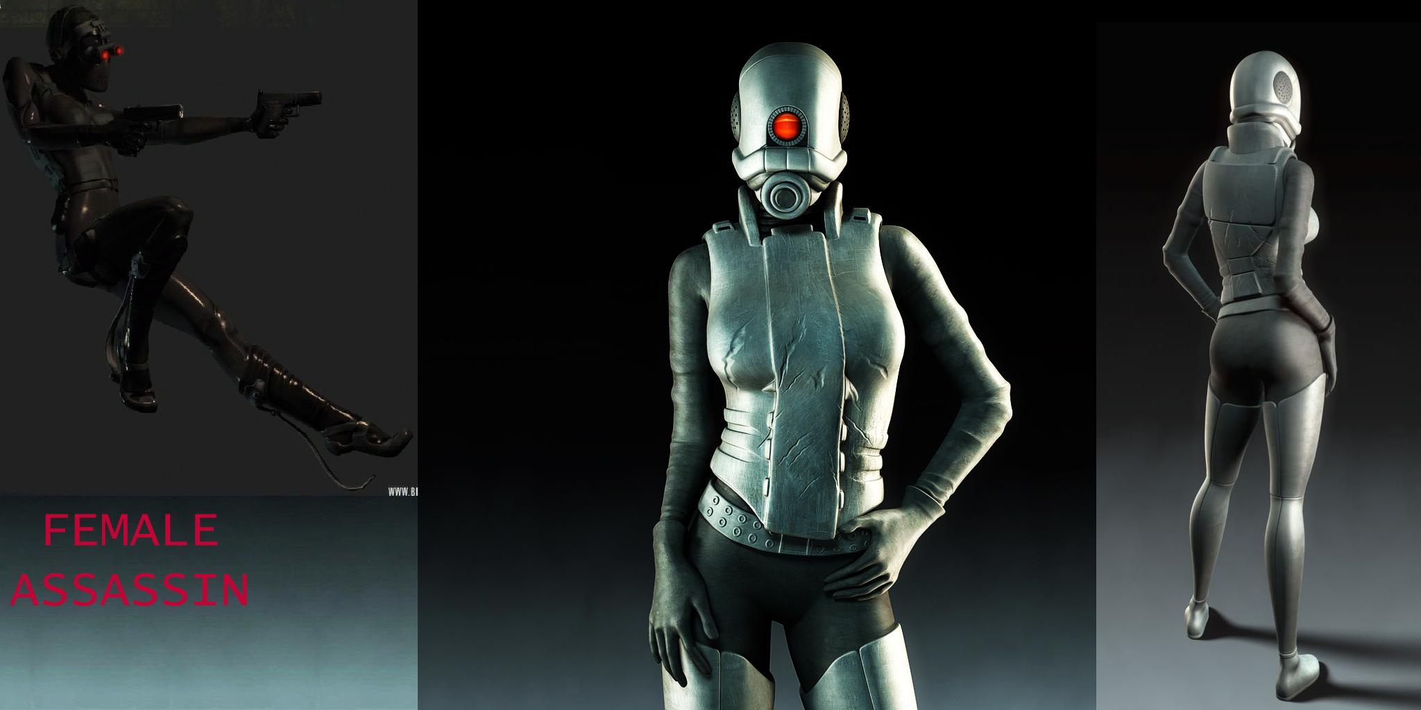 Female Assassin Background file - Garrys Mod for Half-Life 2 - Mod DB
