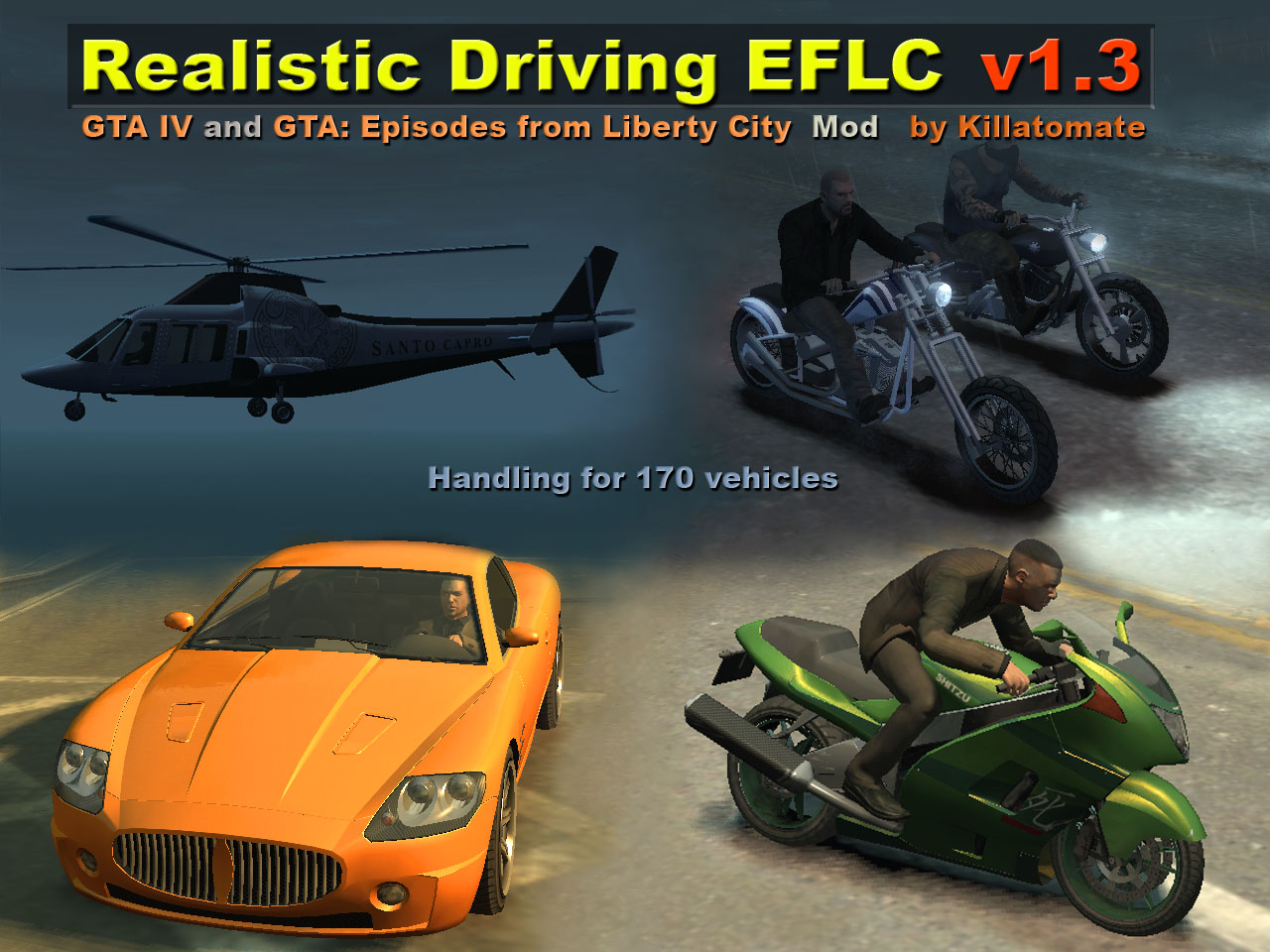 Realistic Driving And Flying Eflc 1 3 File Mod Db