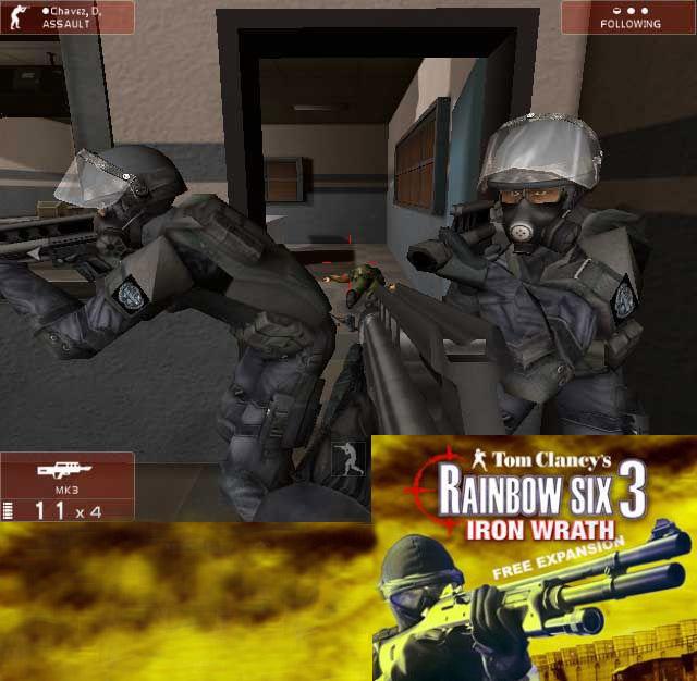 Tom clancy's rainbow six 3: raven shield game mod improved custom.