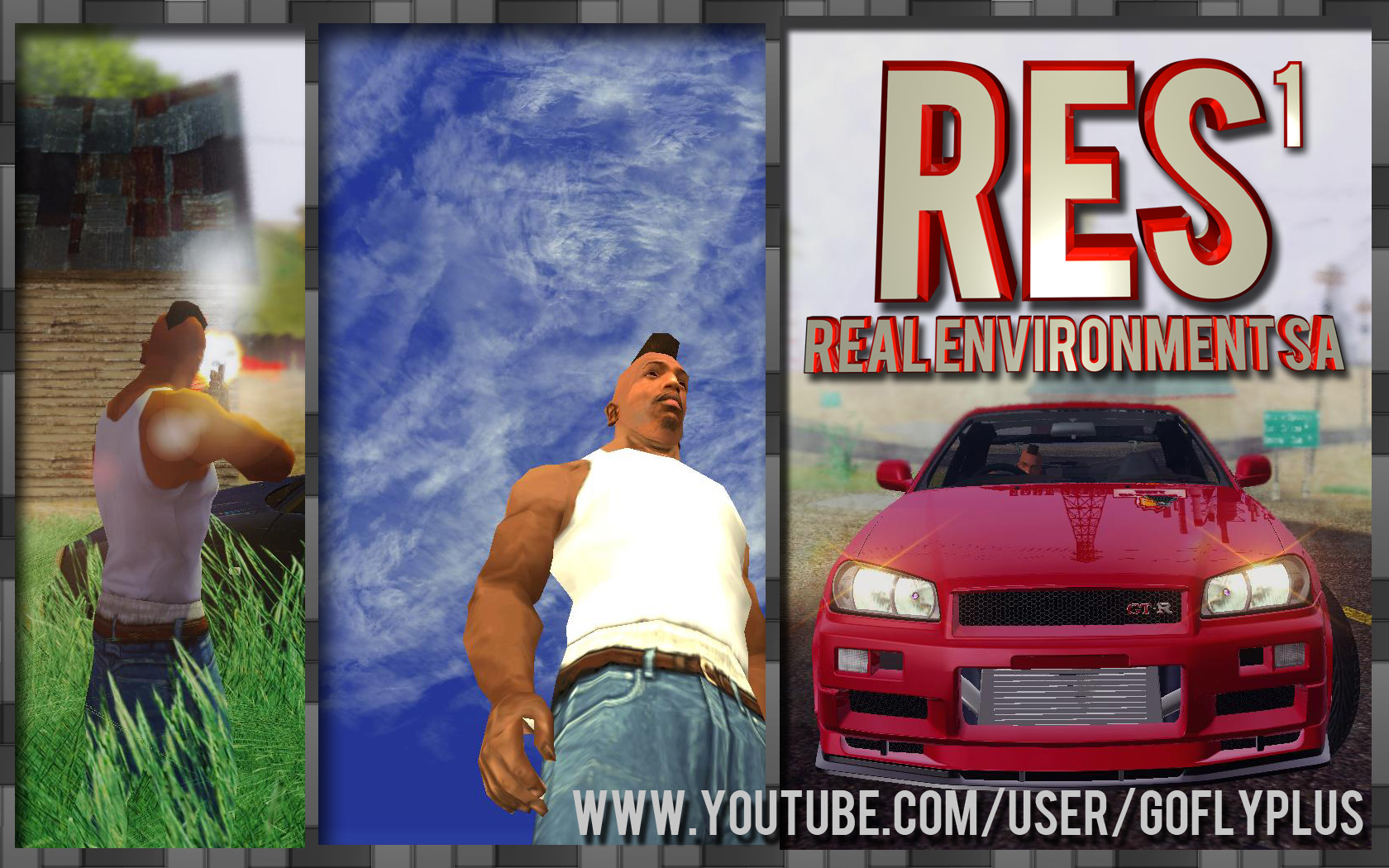 RES : Real Envionment SA file - Grand Theft Auto: San
