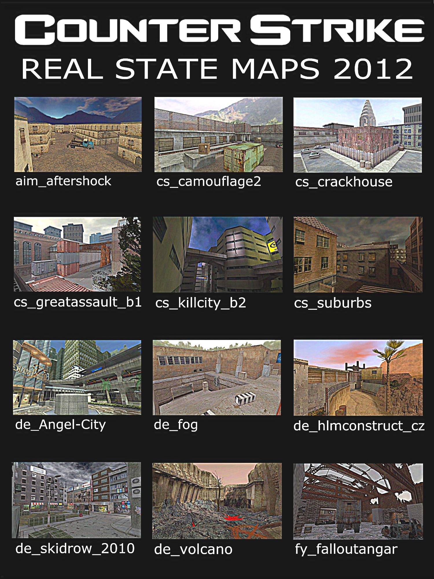 CS1 6 Real State Map Pack 2012 addon - Counter-Strike - Mod DB