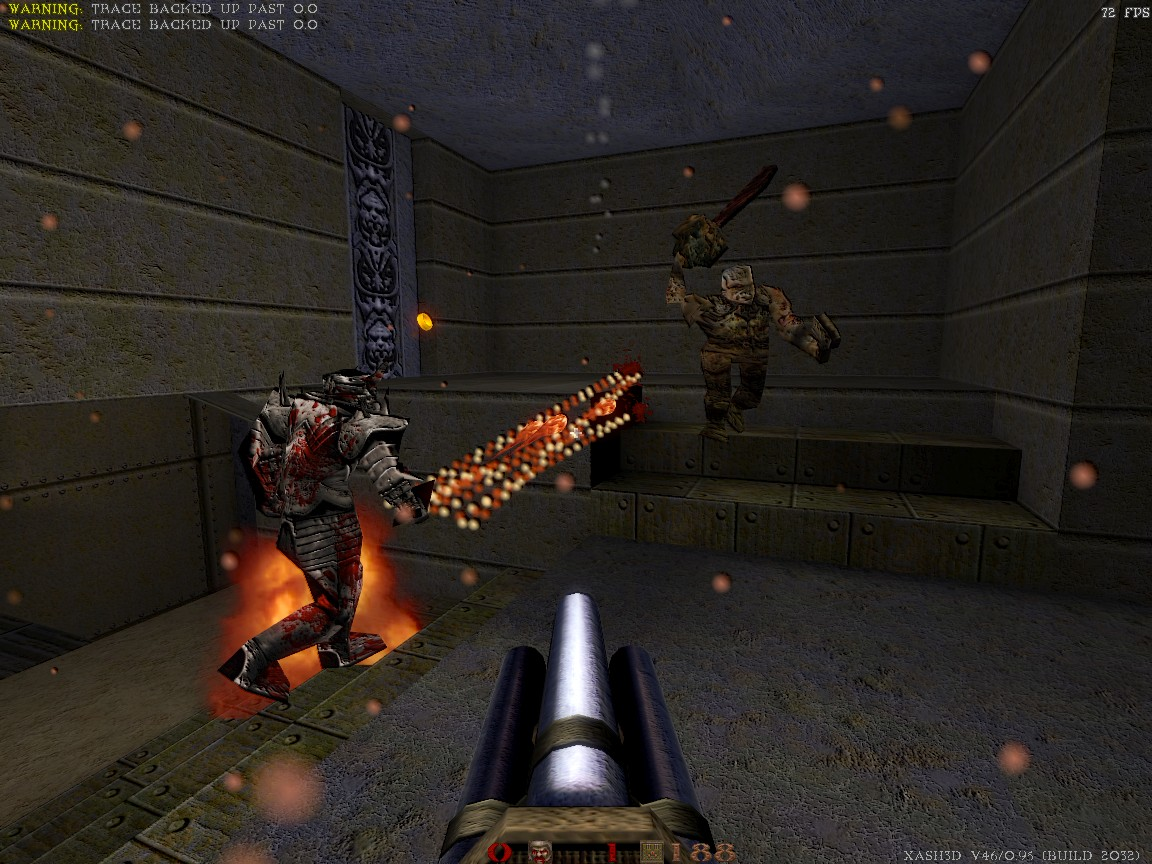 QRU: HD models by Ruohis, v1.0 file - Quake Remake Upgrade mod for
