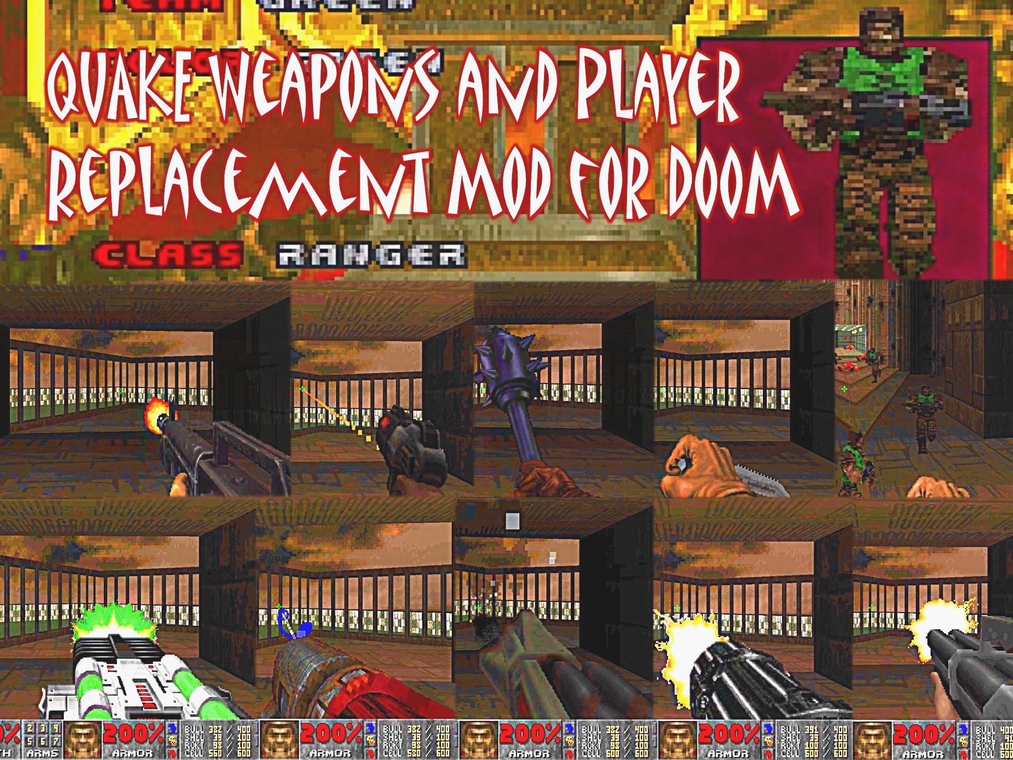 Quake Ranger Weapons V09 addon - Doom - Mod DB
