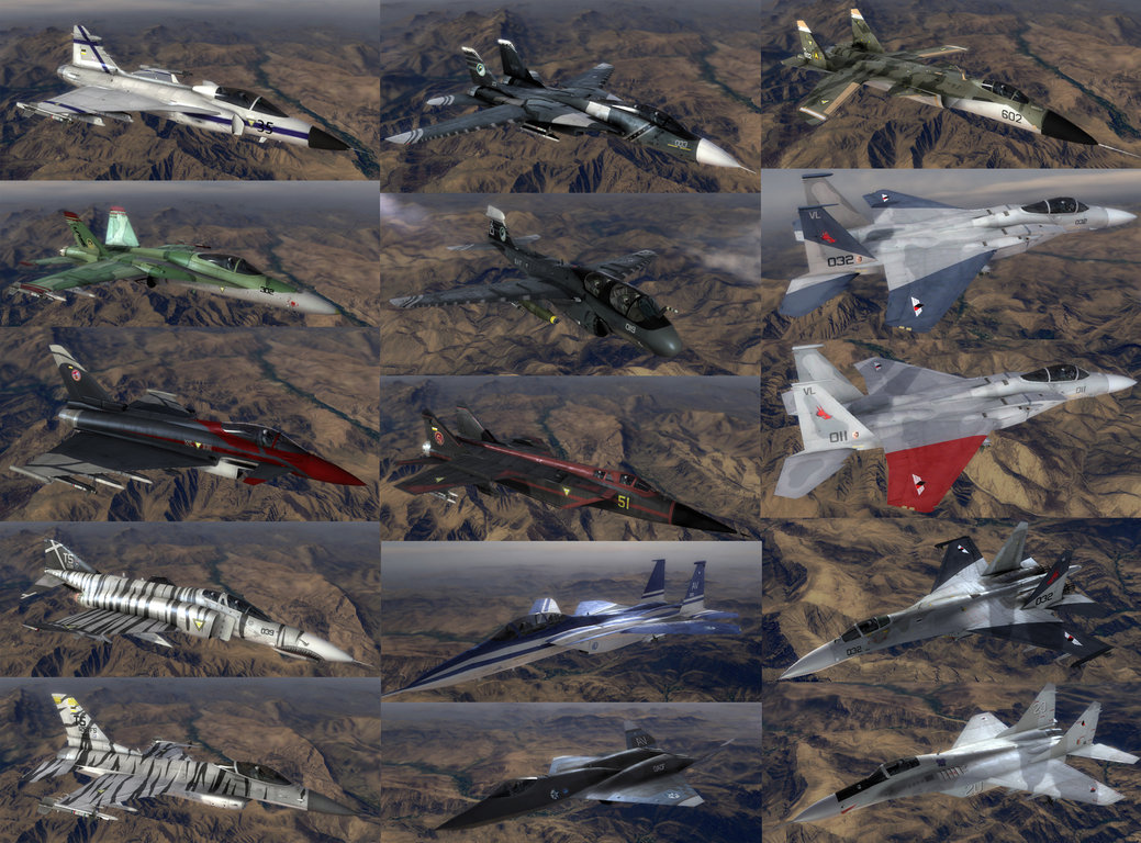 The Round Table Ace Combat.Knights Of The Round Table Skin Pack Addon Highly Adaptable