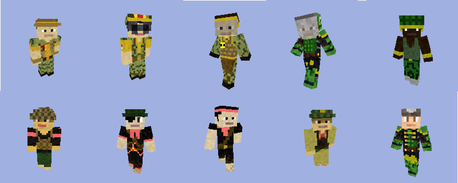 Minecraft - RA11 Paradox: Apocalypse Mini-Mod Skins addon - Mod DB