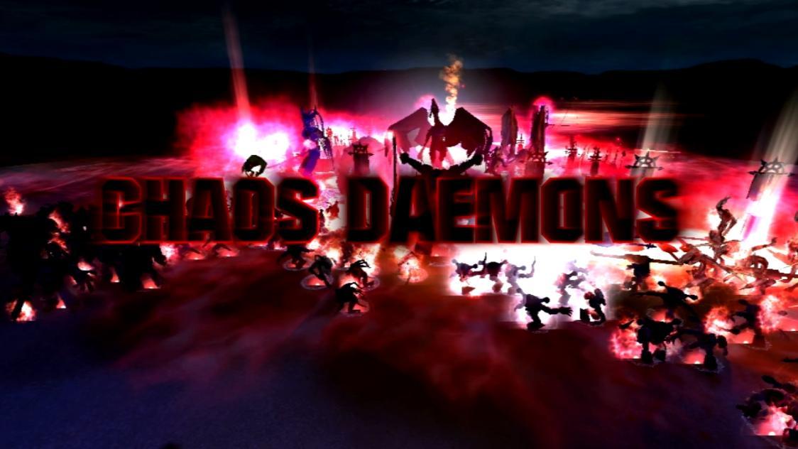 Загрузок. Просмотров. Dawn of War: Soulstorm Daemons Mod 0.96. Моды. De