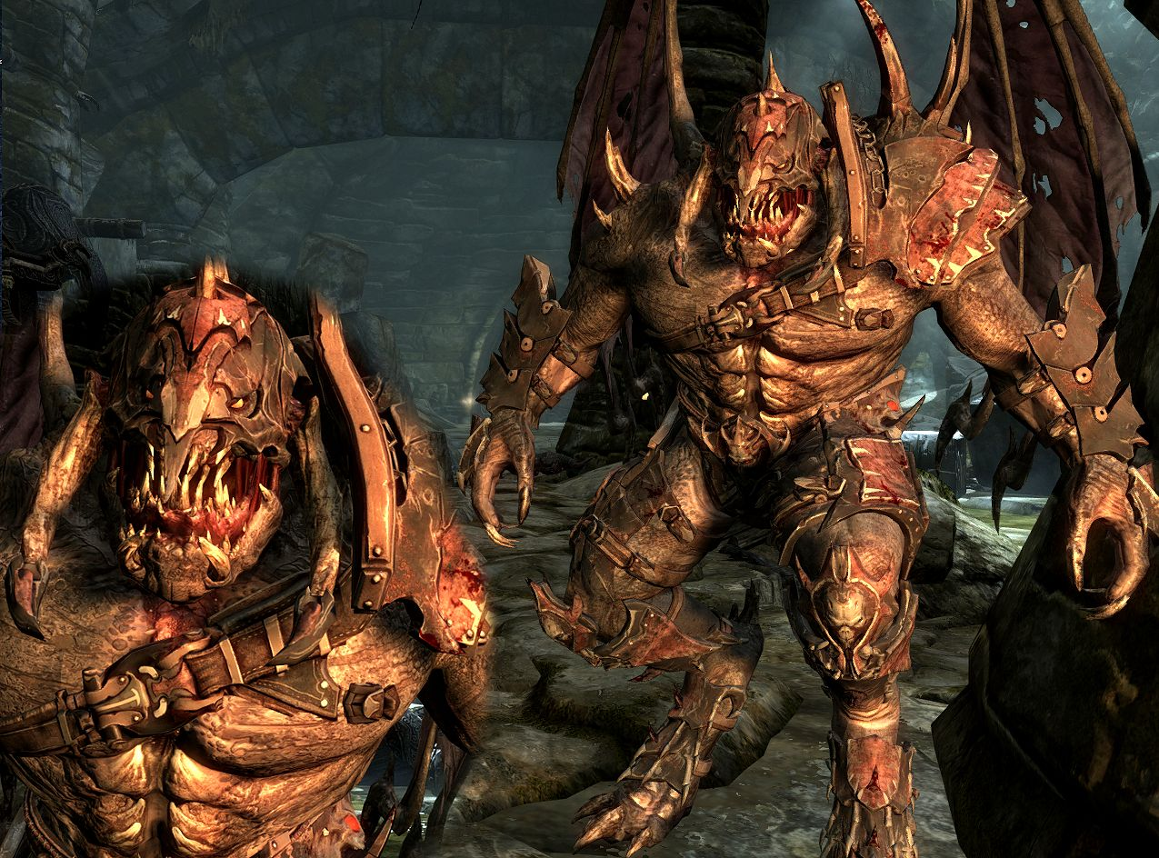 demon werewolf replacer file skymomod v13 for elder