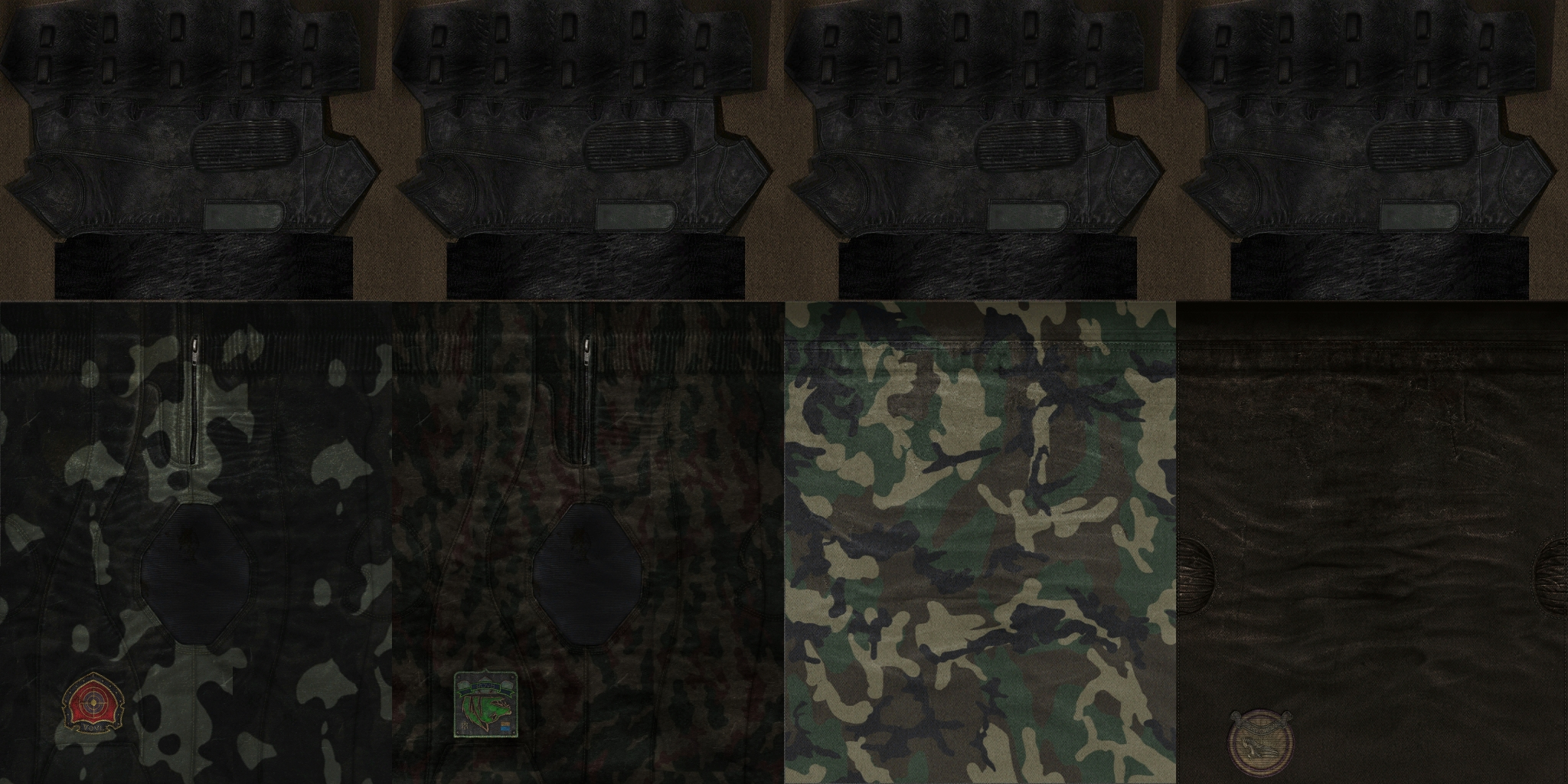 Optional arm texture addon