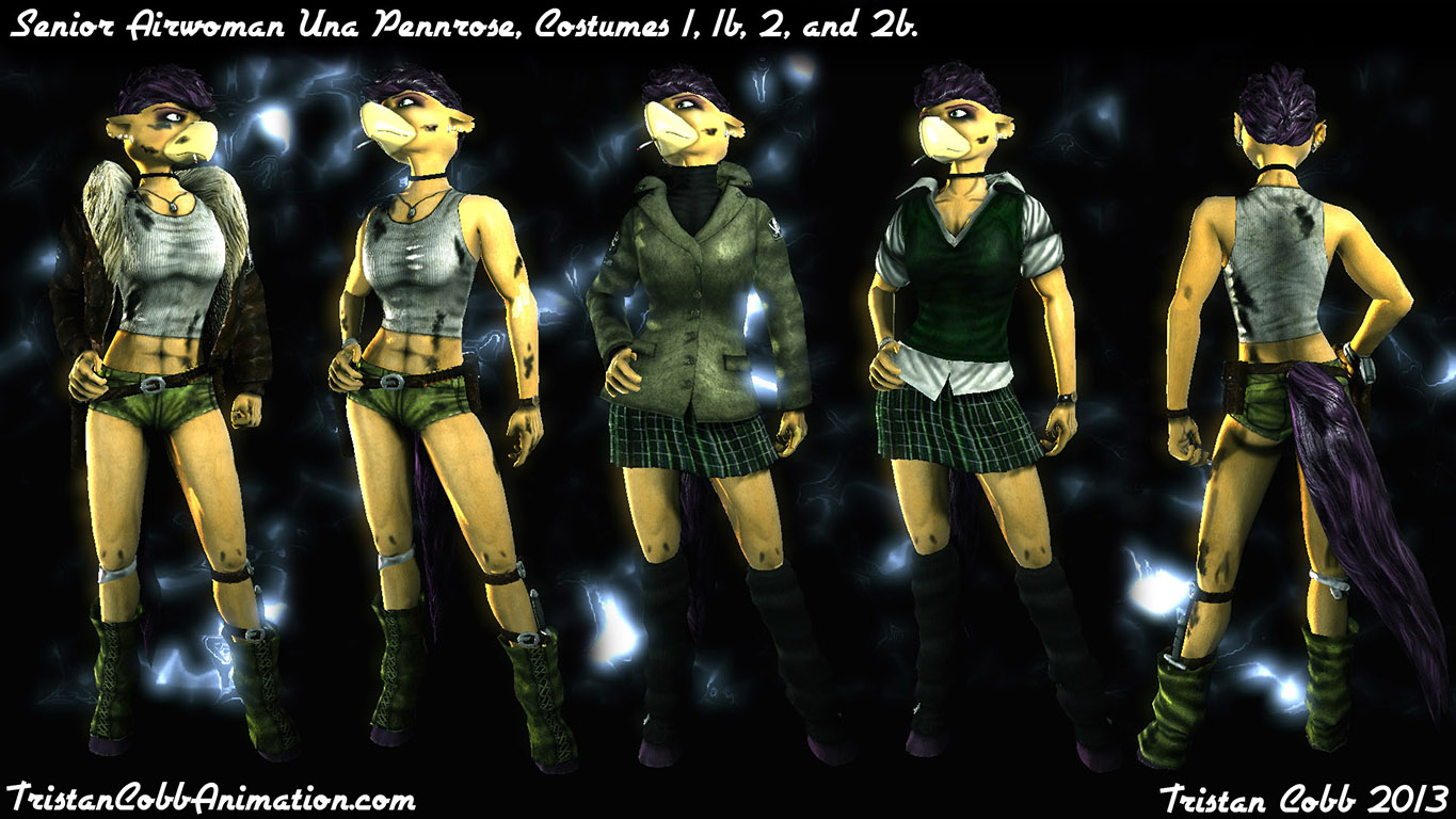 Pennrose - UT3 Character Model addon - Unreal Tournament 3