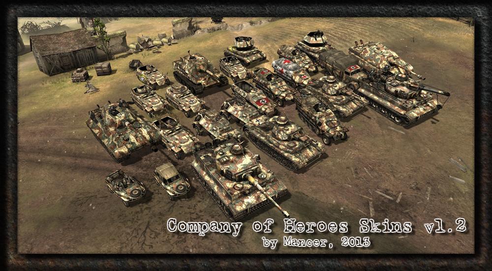 Mancer S Coh Skins V1 2 Addon Company Of Heroes Mod Db