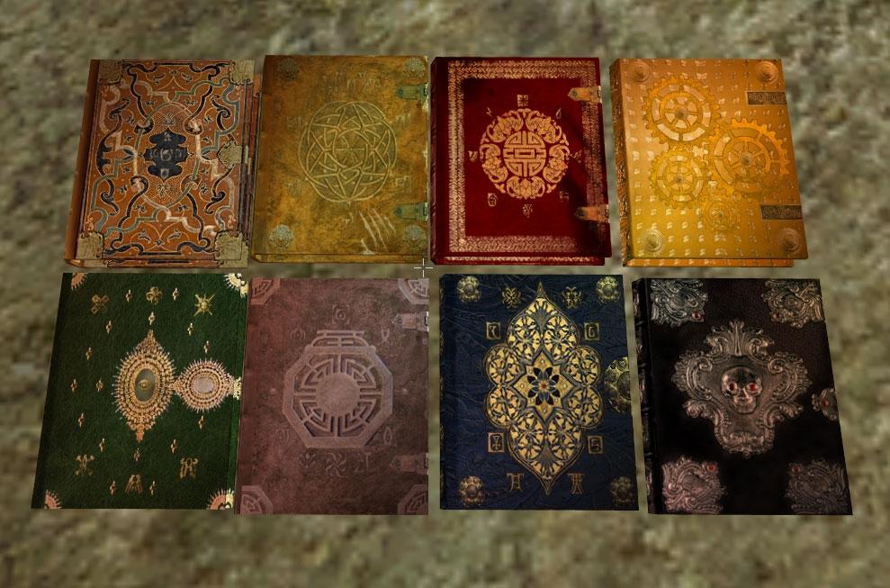 Beautiful Books Vol1 addon - Elder Scrolls III: Morrowind