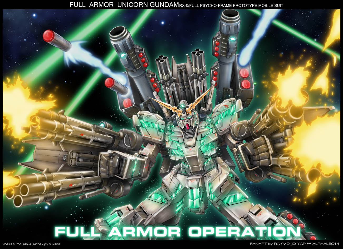 Full Armor Unicorn Gundam addon