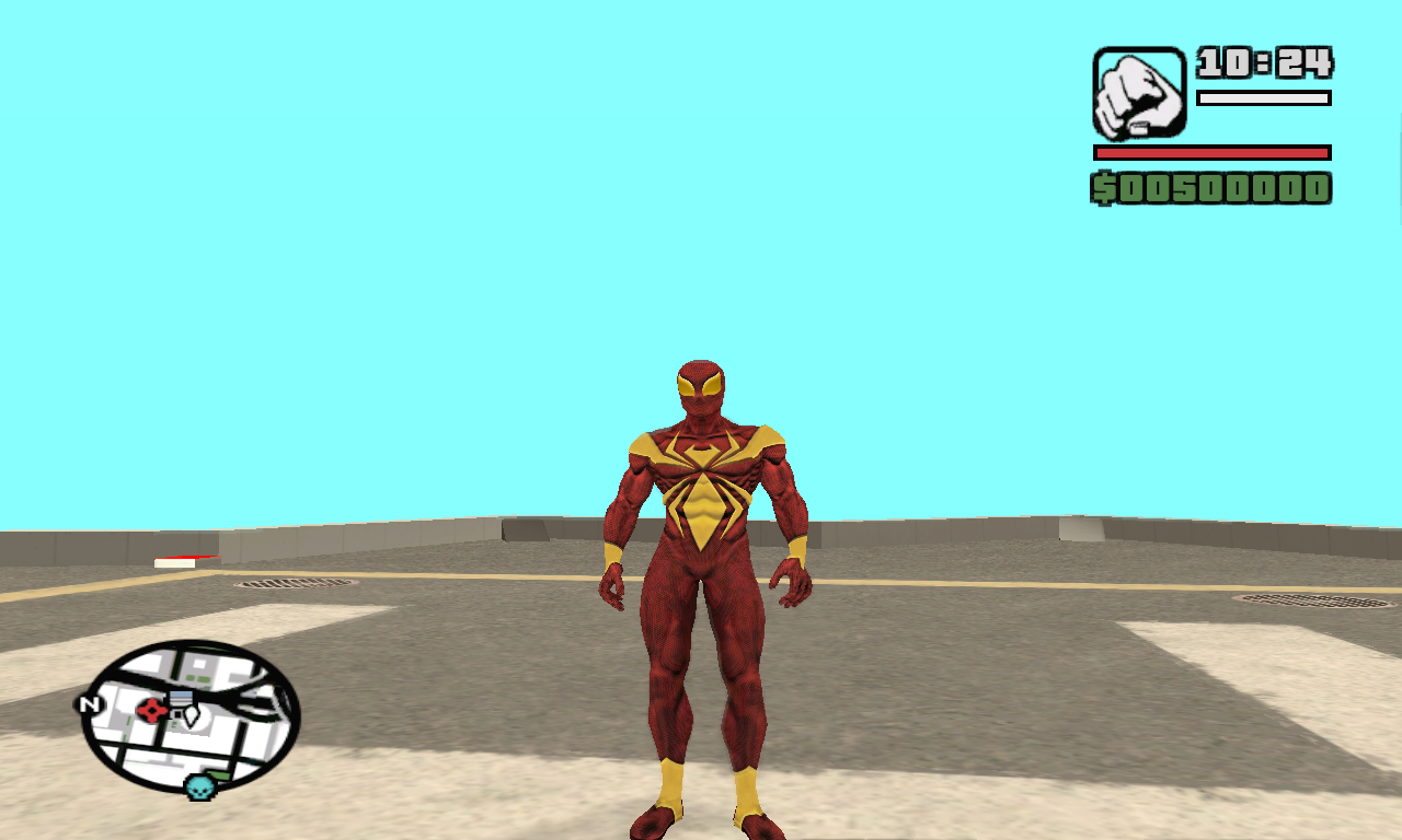 Iron Spider Ped file - Mod DB