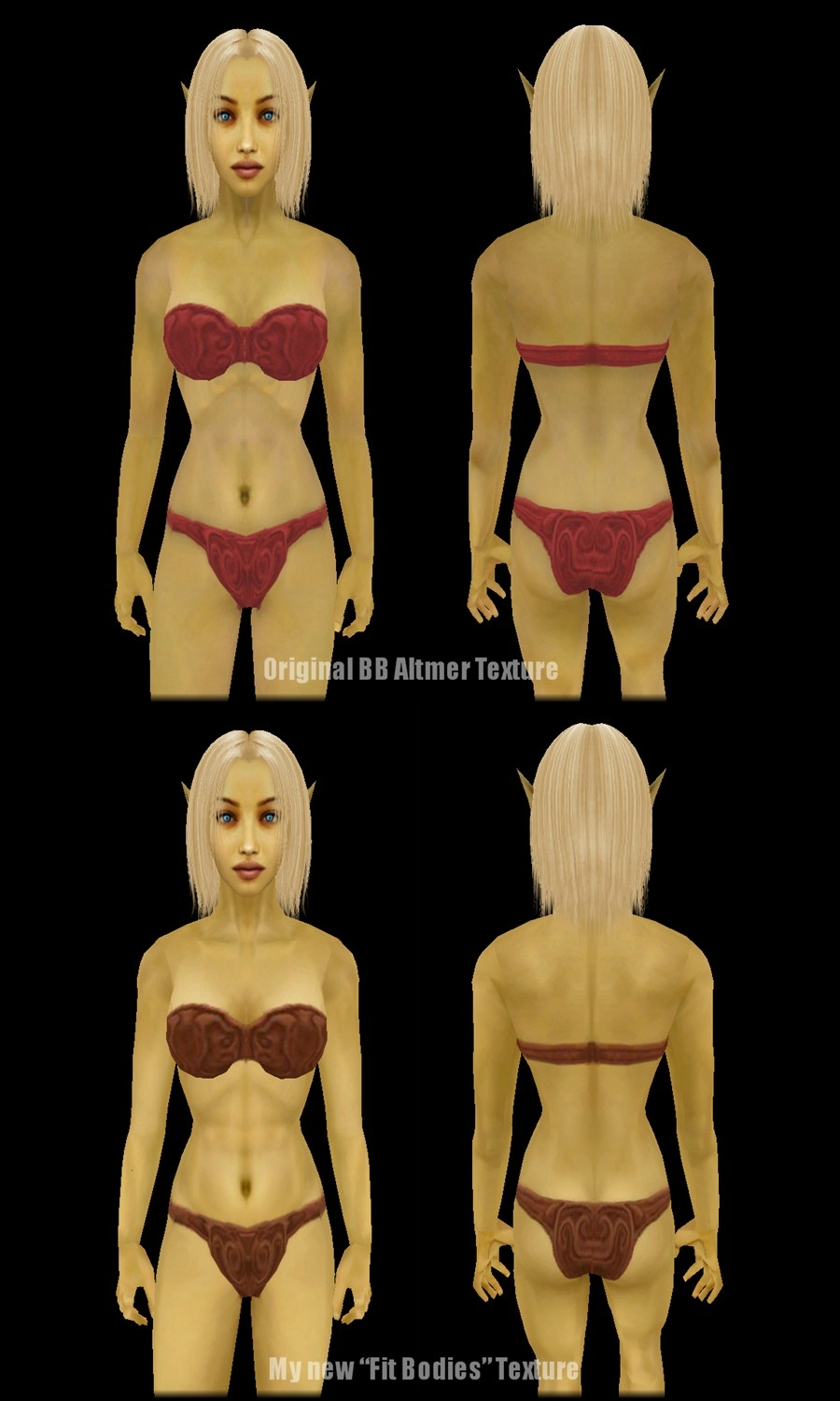 Morrowind nude mod better bodies naked photo
