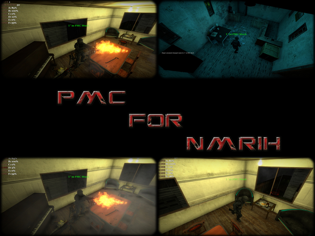 PMC Tactical Models for NMRIH addon - Half-Life 2: Episode
